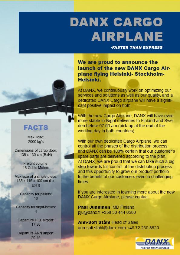 DANX Cargo Airplan