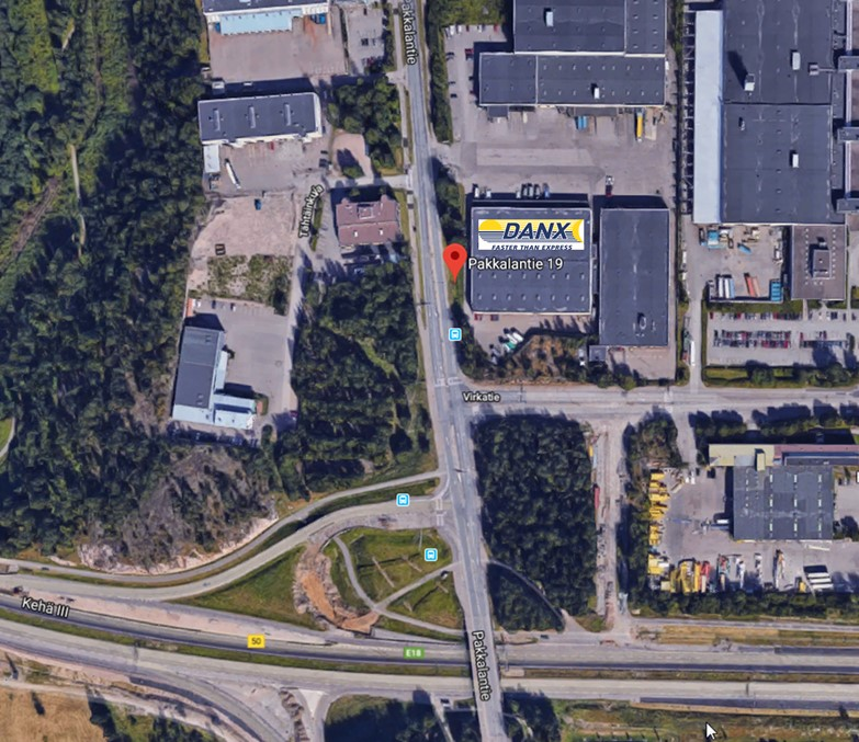 Danx A/s ,Finland,Vantaa,new premises